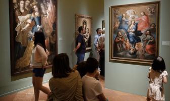 Noche Museos 2017 Salas Pintura Ángel Medina